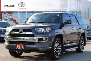 Used 2018 Toyota 4Runner SR5 Limited 4WD 7-Passenger with Remote Starter and New Tires for sale in Oakville, ON