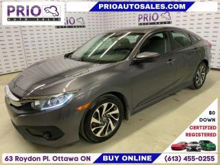 Used 2017 Honda Civic Sedan 4dr CVT EX for sale in Ottawa, ON