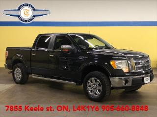 Used 2010 Ford F-150 Lariat SuperCrew, Leather, Sunroof, Navi & more for sale in Vaughan, ON