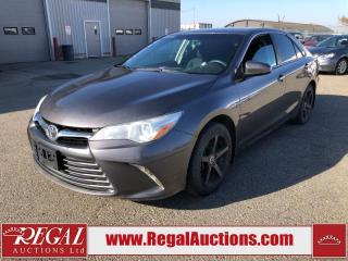 Used 2015 Toyota Camry LE for sale in Calgary, AB