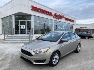 Used 2016 Ford Focus SE Sedan   BLUETOOTH   BACKUP CAM for sale in Winnipeg, MB