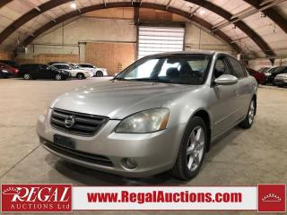 Used 2002 Nissan Altima SE for sale in Calgary, AB