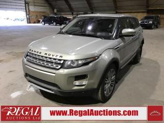 Used 2012 Land Rover Evoque for sale in Calgary, AB