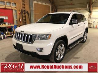 Used 2012 Jeep Grand Cherokee Overland for sale in Calgary, AB