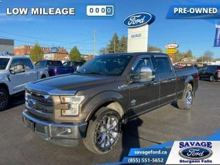 Used 2015 Ford F-150 KING RANCH  - Panoramic Roof - $364 B/W for sale in Sturgeon Falls, ON
