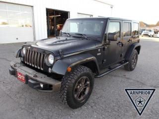 Used 2017 Jeep Wrangler JK Unlimited Sahara for sale in Arnprior, ON