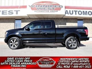 Used 2016 Ford F-150 SPORT EDITION 5.0L V8 4X4, LOADED, SHARP & CLEAN!! for sale in Headingley, MB