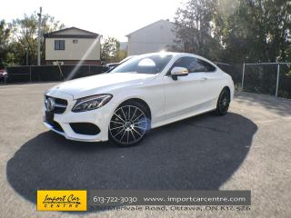 Used 2018 Mercedes-Benz C-Class LOADED  DRIVER'S ASSIST  360 CAM  BURMESTER SOUND for sale in Ottawa, ON