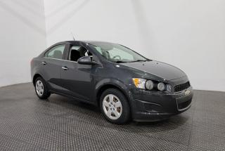 Used 2014 Chevrolet Sonic LT - Bluetooth - Climatiseur for sale in Laval, QC
