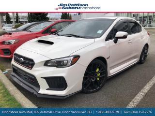 Used 2018 Subaru WRX STI Sport-tech w/Lip for sale in North Vancouver, BC