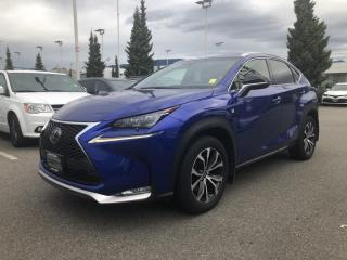 Used 2017 Lexus NX 200t F SPORT for sale in North Vancouver, BC