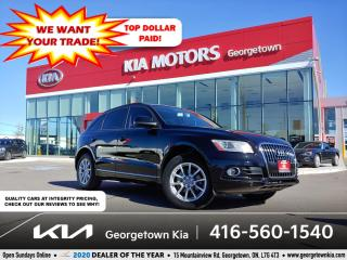 Used 2014 Audi Q5 KOMFORT | LTHR | 51K | HTD SEATS| BLUETOOTH for sale in Georgetown, ON