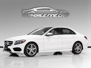 Used 2017 Mercedes-Benz C-Class C300 4MATIC. Driver Assist, Navigation, Cam, Roof, Loaded! for sale in Concord, ON
