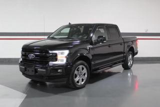 Used 2018 Ford F-150 LARIAT SPORT CREW NO ACCIDENTS LEATHER NAVIGATION CARPLAY for sale in Mississauga, ON
