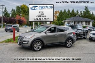 Used 2013 Hyundai Santa Fe AWD 4dr 2.0T, 38 Service Records From Hyundai, Pano Roof for sale in Surrey, BC