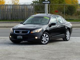 Used 2009 Honda Accord Sedan V6,EX-L,LEATHER,NO-ACCIDENT,CERTIFIED,FULLY LOADED for sale in Mississauga, ON
