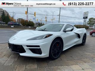 Used 2020 Chevrolet Corvette 2LT  2LT, COUPE, GT BUCKETS SEATS, FRONT LIFT, RED CALIPERS for sale in Ottawa, ON