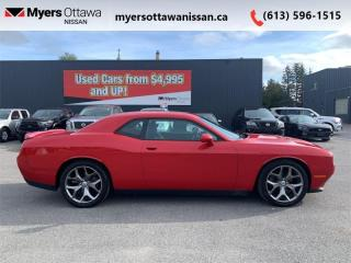 Used 2017 Dodge Challenger SXT  - Bluetooth - Low Mileage for sale in Ottawa, ON