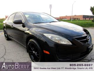Used 2010 Mazda MAZDA6 I Sport GS Accident Free, Low Km! for sale in Woodbridge, ON