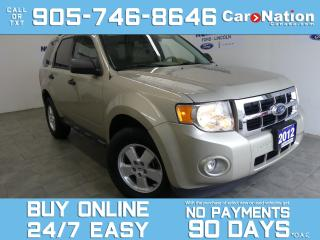 Used 2012 Ford Escape XLT | LOW KMS | OPEN SUNDAYS | CLEAN CARFAX for sale in Brantford, ON