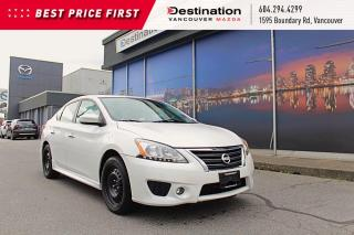 Used 2014 Nissan Sentra S - With Winter Tires! Sunroof & Heated Seats! for sale in Vancouver, BC