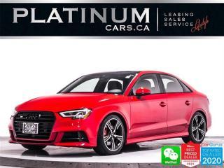 Used 2017 Audi S3 2.0T Quattro Technik, AWD, NAV, CAM, HEATED for sale in Toronto, ON