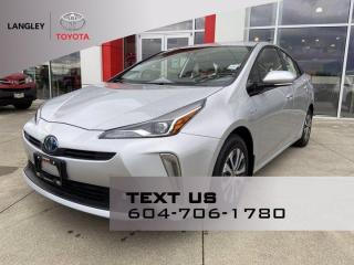 Used 2019 Toyota Prius TECHNOLOGY for sale in Langley, BC