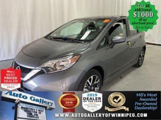 Used 2017 Nissan Versa SR* Bluetooth/Heated Seats/Satellite Radio for sale in Winnipeg, MB