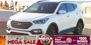 Used 2017 Hyundai Santa Fe Sport AWD, Heated Seats + Steering Wheel, Back Up Camera for sale in Saskatoon, SK