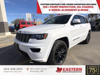 Used 2019 Jeep Grand Cherokee Altitude | Backup Camera | Blind Spot Detection | for sale in Winnipeg, MB