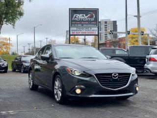 Used 2014 Mazda MAZDA3 GT-SKY | Navi | Sun Roof | Heads Up Display for sale in Ottawa, ON