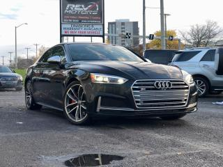 Used 2018 Audi S5 Technik | Quattro | Red Leather | Pano Roof | B&O for sale in Ottawa, ON
