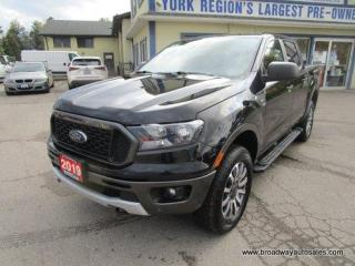 Used 2019 Ford Ranger LIKE NEW XLT-EDITION 5 PASSENGER 2.3L - ECO-BOOST.. 4X4.. CREW-CAB.. SHORTY.. NAVIGATION.. HEATED SEATS.. BACK-UP CAMERA.. BLUETOOTH SYSTEM.. for sale in Bradford, ON