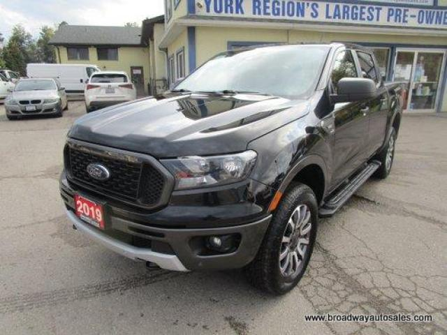2019 Ford Ranger LIKE NEW XLT-EDITION 5 PASSENGER 2.3L - ECO-BOOST.. 4X4.. CREW-CAB.. SHORTY.. NAVIGATION.. HEATED SEATS.. BACK-UP CAMERA.. BLUETOOTH SYSTEM..