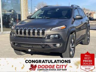 Used 2017 Jeep Cherokee Trailhawk for sale in Saskatoon, SK