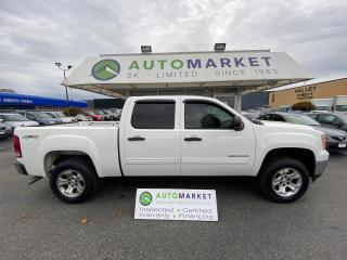 Used 2012 GMC Sierra 1500 SL Crew Cab 4WD CLEAN TRUCK! FREE BCAA & WRNTY! for sale in Langley, BC