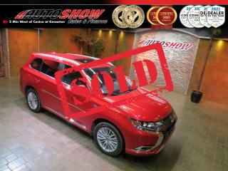 Used 2019 Mitsubishi Outlander PHEV Hybrid GT w/ AWD, Sunroof & Htd Leather !! for sale in Winnipeg, MB
