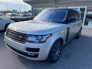 Used 2016 Land Rover Range Rover SC AUTOBIOGRAPHY LWB NAVI BCAM HUD for sale in Calgary, AB