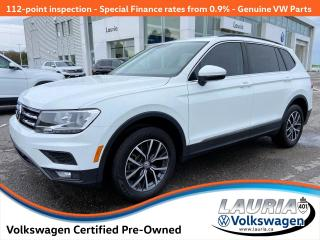 Used 2019 Volkswagen Tiguan 2.0T AWD Comfortline 4Motion - LOW KMS for sale in PORT HOPE, ON