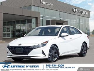 New 2022 Hyundai Elantra Preferred IVT Sun and Tech for sale in Barrie, ON