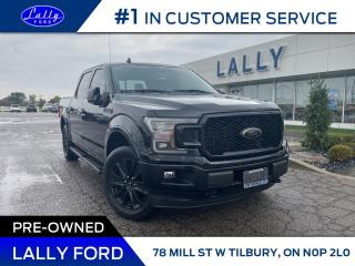 Used 2020 Ford F-150 LARIAT, Black Package, Moonroof, One Owner!! for sale in Tilbury, ON