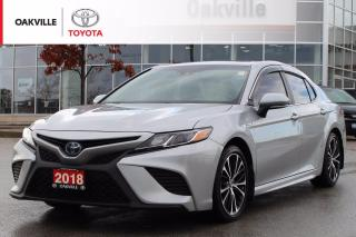 Used 2018 Toyota Camry HYBRID SE with Clean Carfax and One Owner for sale in Oakville, ON
