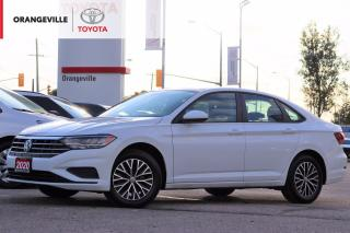 Used 2020 Volkswagen Jetta Highline HIGHLINE, LEATHER SEATS, ANDROID AUTO, APPLE CARPLAY, HEATED SEATS, SUNROOF, BLIND SPOT MONITOR for sale in Orangeville, ON