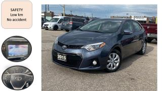 Used 2015 Toyota Corolla AUTO S TRIM REMOTE START LEATHER B-CAMERA BLUETOOT for sale in Oakville, ON