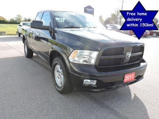 Used 2011 RAM 1500 Outdoorsman Hemi 4X4 Well oiled body 87000 km's for sale in Gorrie, ON