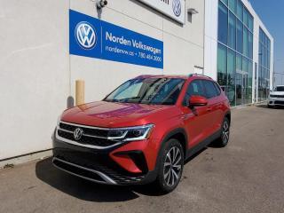 New 2022 Volkswagen Taos Highline for sale in Edmonton, AB