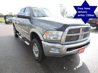 Used 2010 Dodge Ram 3500 Laramie 1 owner Western truck No rust 4X4 Cummins for sale in Gorrie, ON