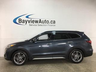 Used 2017 Hyundai Santa Fe XL LIMITED - AWD! LEATHER! SUNROOF! NAV! 7PASS! for sale in Belleville, ON