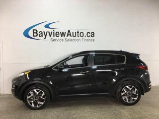 Used 2020 Kia Sportage EX Premium - AWD! HEATED LEATHER! PANOROOF! for sale in Belleville, ON