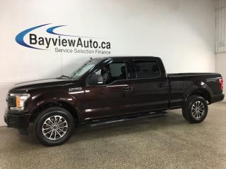 Used 2019 Ford F-150 XLT - 5.0L! V8! 4X4! BUCKETS! CONSOLE! LEATHER! for sale in Belleville, ON